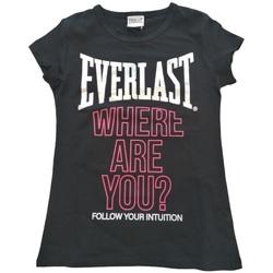 Abbigliamento Donna T-shirt maniche corte Everlast 028058  110 Nero
