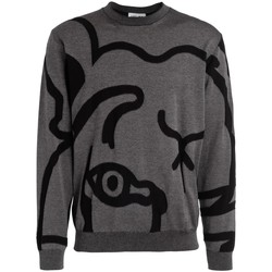 Abbigliamento Uomo Maglioni Kenzo Maglione da uomo K-Tiger grigio Grigio