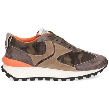 Scarpe Uomo Sneakers basse Voile Blanche Qwark taupe camouflage MARRONE