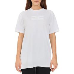 Abbigliamento Donna T-shirt & Polo Elisabetta Franchi MA20416E2 gesso