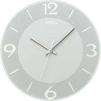 Casa Orologi Ams 9571, Quartz, Silver, Analogue, Modern Argento
