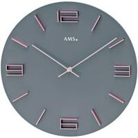 Casa Orologi Ams 9590, Quartz, Grey, Analogue, Modern Grigio