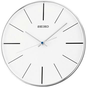 Casa Orologi Seiko QXA634A, Quartz, White, Analogue, Modern Bianco