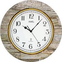 Casa Orologi Ams 5569, Quartz, White, Analogue, Modern Bianco
