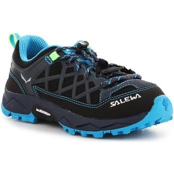 Scarpe Unisex bambino Trekking Salewa Jr Wildfire 64007-3847 blue, granatowy