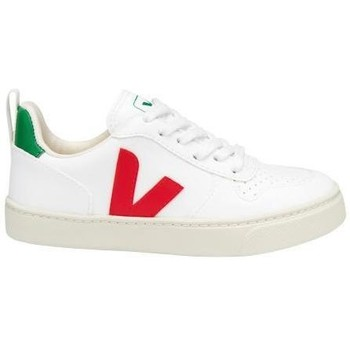 Scarpe Sneakers basse Veja V-10 Lace CWL White Pekin bianca