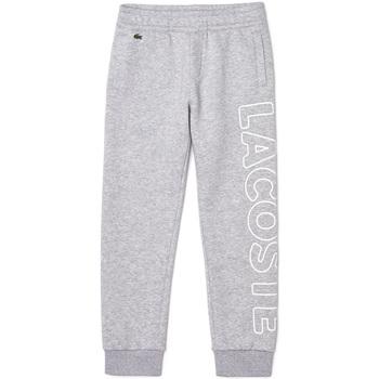 Abbigliamento Bambino Pantaloni da tuta Lacoste - Pantalone grigio XJ6901-CCA GRIGIO