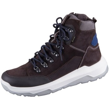 Scarpe Unisex bambino Sneakers alte Superfit Space Marrone