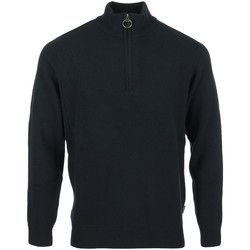 Abbigliamento Uomo Gilet / Cardigan Barbour Holden Half Zip Blu