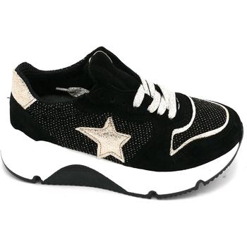 Scarpe Donna Sneakers basse Giada VED Nero-oro
