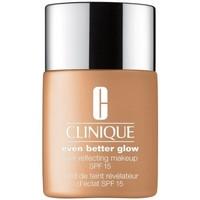 Bellezza Donna Fondotinta & primer Clinique Maquillaje Even Better Glow  WN 112 Ginger - 30ml. Maquillaje Even Better Glow  WN 112 Ginger - 30ml.