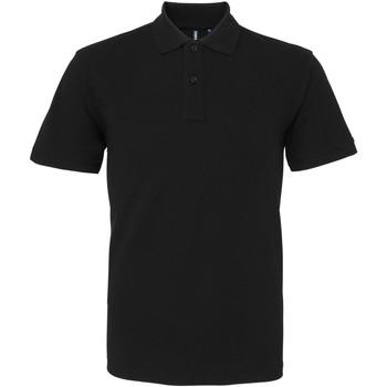 Abbigliamento Uomo Polo maniche corte Asquith & Fox AQ082 Nero