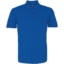 Abbigliamento Uomo Polo maniche corte Asquith & Fox AQ082 Blu reale acceso