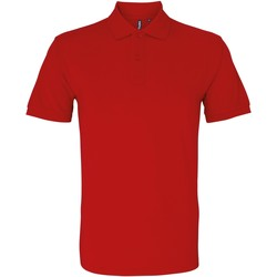 Abbigliamento Uomo Polo maniche corte Asquith & Fox AQ082 Rosso