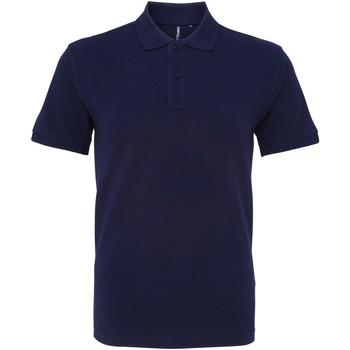 Abbigliamento Uomo Polo maniche corte Asquith & Fox AQ082 Blu navy