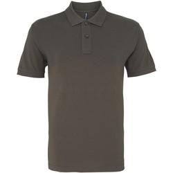 Abbigliamento Uomo Polo maniche corte Asquith & Fox AQ082 Grigio