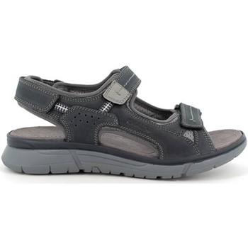 Scarpe Uomo Sandali Enval 7221011 sandali trekking pelle morbide uomo memory Blue