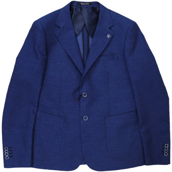 Abbigliamento Uomo Giacche da completo Langella ATRMPN-29328 Blu