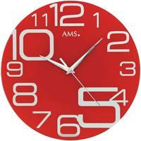 Casa Orologi Ams 9462, Quartz, Red, Analogue, Modern Rosso