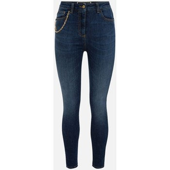 Abbigliamento Donna Jeans slim Elisabetta Franchi PJ21S16E2 denim