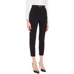 Abbigliamento Donna Pantaloni Elisabetta Franchi PA38216E2 nero