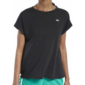Abbigliamento Donna T-shirt maniche corte Reebok Sport FT0966 Nero