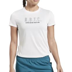 Abbigliamento Donna T-shirt maniche corte Reebok Sport FL0061 Bianco