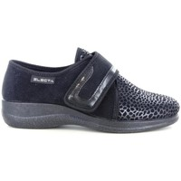 Scarpe Donna Pantofole Electa 57087 NERO