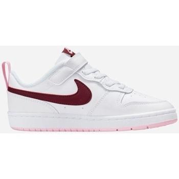 Scarpe Bambino Sneakers basse Nike Court Borough Low 2 Ps- Scarpa bambina                           bianco
