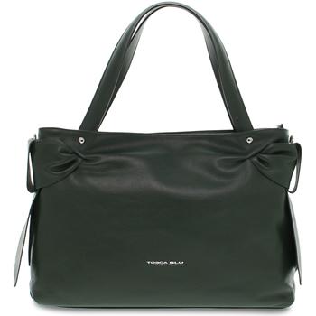 Borse Donna Tote bag / Borsa shopping Tosca Blu Shopping bag  BORSA GRANDE SOTTOBOSCO in pelle verde verde