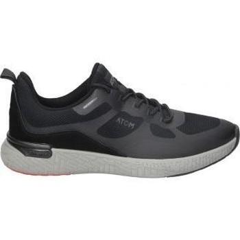 Scarpe Uomo Sneakers basse Fluchos ZAPATOS  F1390 CABALLERO NEGRO Noir