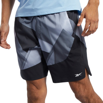 Abbigliamento Uomo Shorts / Bermuda Reebok Sport FK6320 Grigio