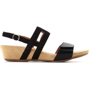 Scarpe Donna Sandali Benvado donna sandali ERICA 28021004 NERO Pelle