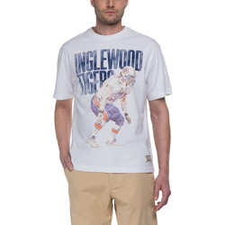Abbigliamento Uomo T-shirt maniche corte Franklin & Marshall T-shirt Franklin & Marshall Classique blanc