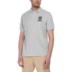 Abbigliamento Uomo Polo maniche corte Franklin & Marshall Polo Franklin & Marshall Classique gris chiné