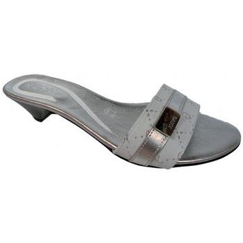Scarpe Donna Ciabatte Keys T.10 Ciabatte argento