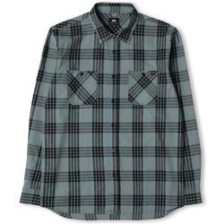 Abbigliamento Uomo Camicie maniche lunghe Edwin Chemise  Labour gris/noir