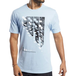 Abbigliamento Uomo T-shirt maniche corte Reebok Sport FJ4618 Blu