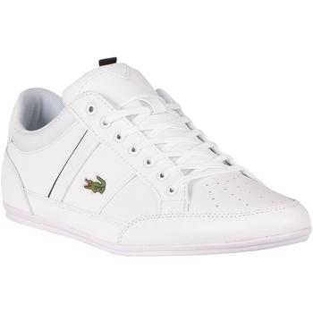 Scarpe Uomo Sneakers basse Lacoste Scarpe da ginnastica Chaymon 0121 1 CMA bianca
