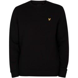Abbigliamento Uomo Maglioni Lyle & Scott Felpa con logo nero