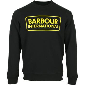 Abbigliamento Uomo Felpe Barbour Large Logo Sweat Nero