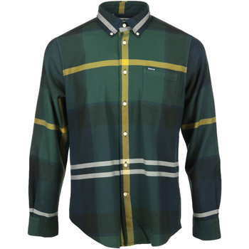 Abbigliamento Uomo Camicie maniche lunghe Barbour Dunoon Tailored Shirt Verde
