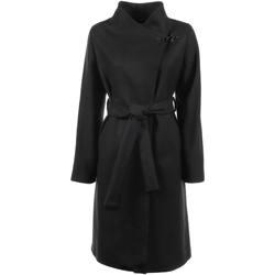 Abbigliamento Donna Trench Fay Cappotto Nero Con Cintura Nero