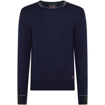 Abbigliamento Uomo Maglioni Peuterey Maglia Girocollo Blu Blu