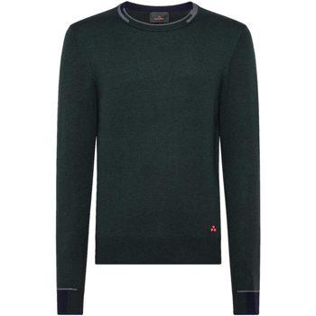 Abbigliamento Uomo Maglioni Peuterey Maglia Girocollo Verde Verde