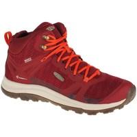 Scarpe Donna Sneakers alte Keen Terradora II WP Rosso
