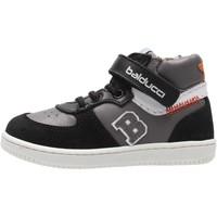 Scarpe Bambino Sneakers alte Balducci - Polacchino nero/grigio MSP3840N NERO