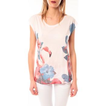 Abbigliamento Donna T-shirt maniche corte Little Marcel T-shirt E15FTSS0231 Tibali Rose poudre Rosa