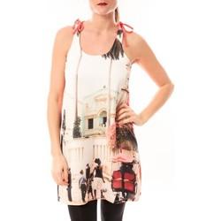 Abbigliamento Donna Abiti corti Little Marcel Robe Risima E15FDRE0314 Rose Corail Rosa