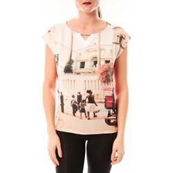 Abbigliamento Donna T-shirt maniche corte Little Marcel Tee-shirt Trisi E15FTSS0333 rose corail Rosa